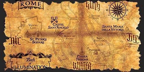 Mapa przebywania demonów we współczesnym świecie