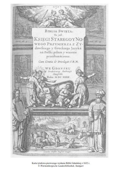 Porównanie Biblii:  Biblia Gdańska a Nowa Biblia Gdańska (różnice)
